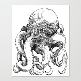 Octopus VI Canvas Print