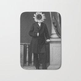 Smart Sunflower.1885. Bath Mat