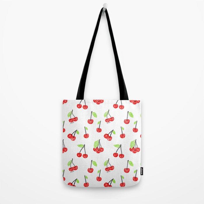 Cherries series Tote Bag
