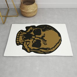 Brown Pirate Skull, Vibrant Skull, Super Smooth Super Sharp 9000px x 11250px PNG Rug