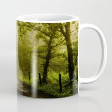 Misty Woodland Lane Mug