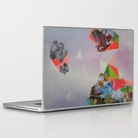 mineral Laptop & iPad Skins featuring Mineral Fracture by Sara Cannon Art