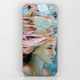 Spotless mind iPhone Skin