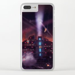 Andover Esate, Blade Runner Style Clear iPhone Case