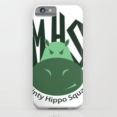 Minty Hippo Squad iPhone 6s Slim Case