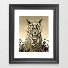 Sentry Framed Art Print