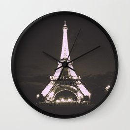 Vintage Style Paris Wall Clock