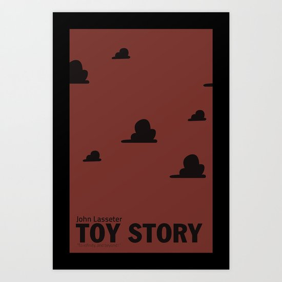 Toy Story | Minimalist Movie Poster Art Print