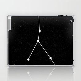 CANCER (BLACK & WHITE) Laptop & iPad Skin