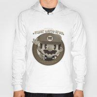 mario bros Hoodies featuring Mario Bros Fan Art by danvinci