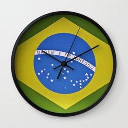 Patria Amada, Brasil (Brazil) Wall Clock