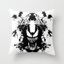 Never wound what you can't kill Throw Pillow