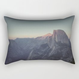 Sunset at the Half Dome Rectangular Pillow