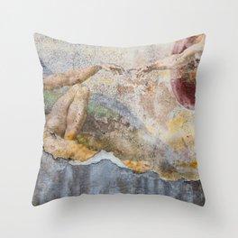 Renaissance Wall 2 Throw Pillow