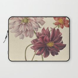 Willem Hekking - dahlias - 1835/1904 Laptop Sleeve