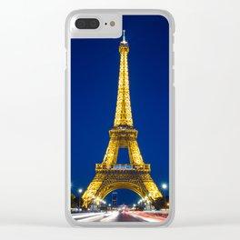 Paris 02 Clear iPhone Case