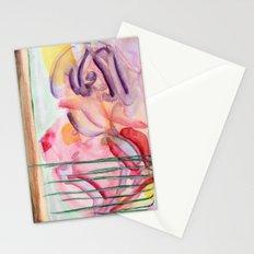 flower graffiti Stationery Cards