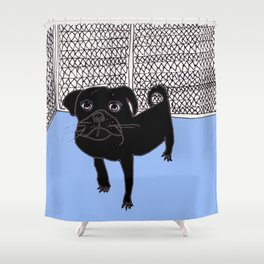The Early Days Shower Curtain