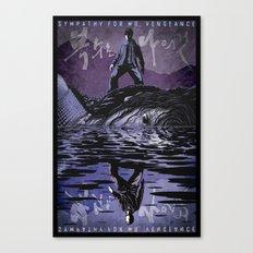 Sympathy for Mr. Vengeance [limited color] Canvas Print