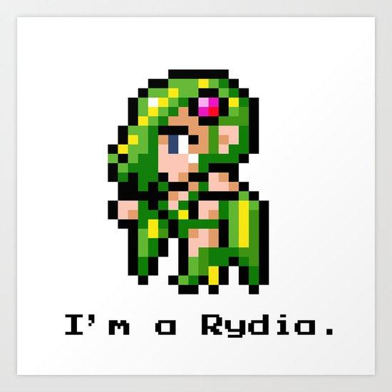 I'm A Rydia (not a Carrie) Art Print