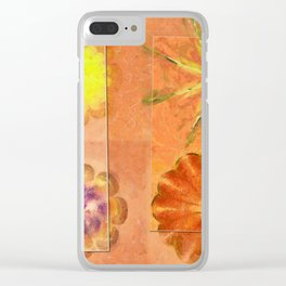 Internarial Concord Flowers  ID:16165-011657-19151 Clear iPhone Case