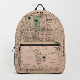 Map of Flatbush 1873 Backpack