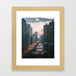 Chicago River Framed Art Print