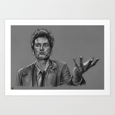 Ever So Slightly Mad - Doctor Who Art Print