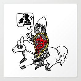 Norman Knight Art Print
