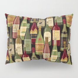 Wine Bottles Pillow Sham