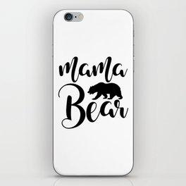 Mama Bear iPhone Skin