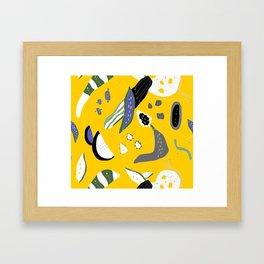 The art of cooking Framed Art Print