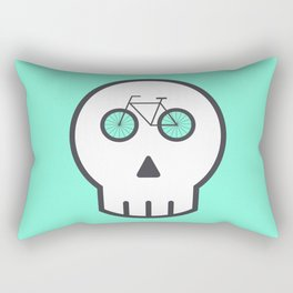 Rider Skull Rectangular Pillow