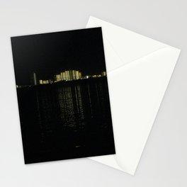 Gulf Shores skyline at night Stationery Cards