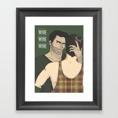 nom Framed Art Print