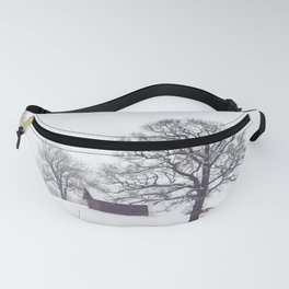 Winter Scene Fanny Pack