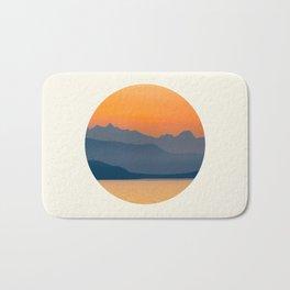 Saffron Sunset Bath Mat