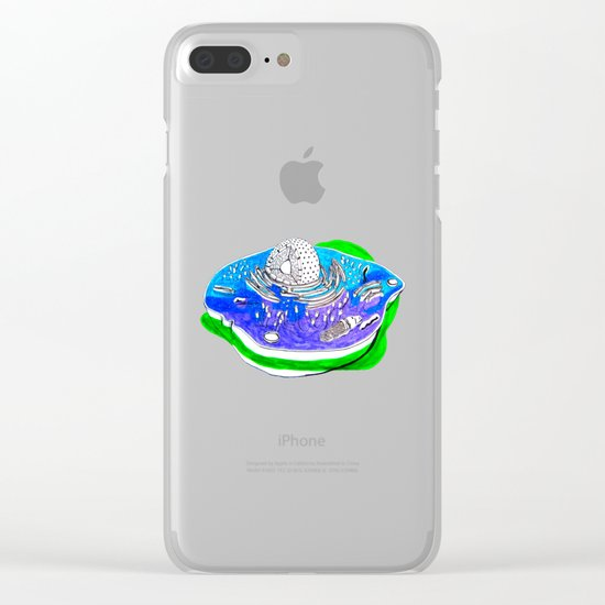 Animal Cell Clear iPhone Case