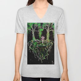 Swamp Discing Unisex V-Neck