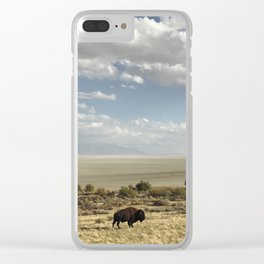 The Buffalo Bison Clear iPhone Case