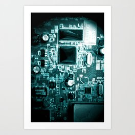 The City of Circuitry 10.0 Art Print