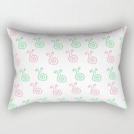 Snail - a - thon Rectangular Pillow