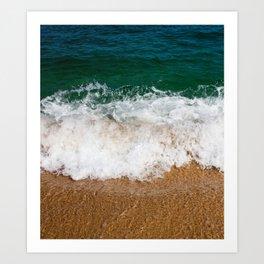 Ocean Shore Art Print