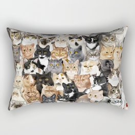 Catmina 2017 - FIVE Rectangular Pillow