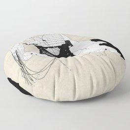 Olivetti Floor Pillow