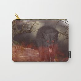 Awesome wolf Carry-All Pouch