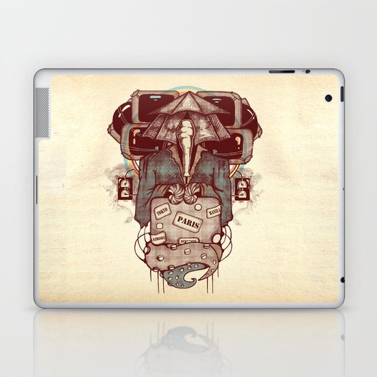 Transcendental Tourist Laptop & iPad Skin