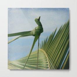 palm origami Metal Print