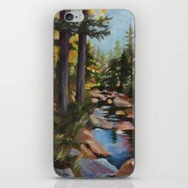 Hike to the Sugarloaves of New Hampshire - Acrylic iPhone Skin