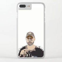 Stephen Cury on Wariors Clear iPhone Case
